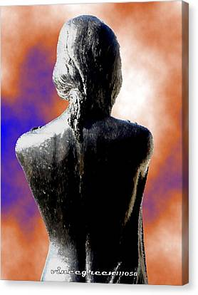 For Eternity Canvas Print by Vince Green