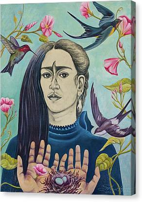 For Frida Canvas Print