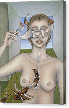 For Remedios Canvas Print by Allison Hill