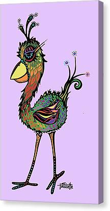 For The Birds Canvas Print by Tanielle Childers