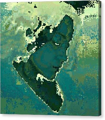 For The Love Of Grim Canvas Print by Eva Ventura