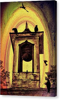 For Whom The Bell Tolls Canvas Print by Bill Cannon