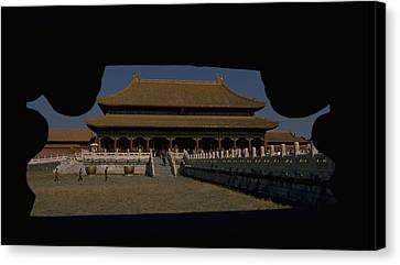 Forbidden City, Beijing Canvas Print