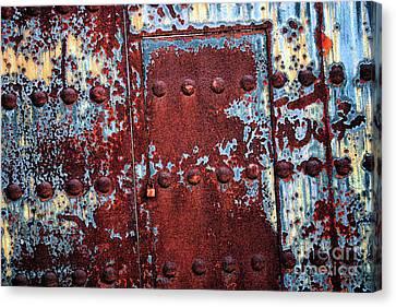 Forbidden Door  Canvas Print by Carol Groenen