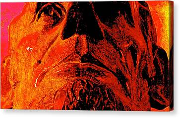Force Of Character Canvas Print by Jeff Gater