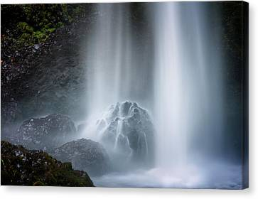 Force Of Water Canvas Print