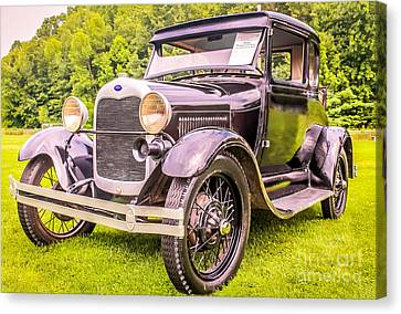 Ford - 1927 Canvas Print by Claudia M Photography