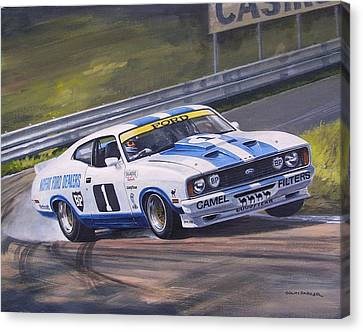 Ford Cobra - Moffat Racing  Canvas Print