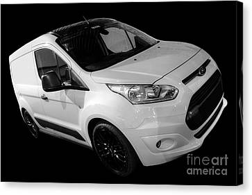 Ford Connect Van Canvas Print by Vicki Spindler