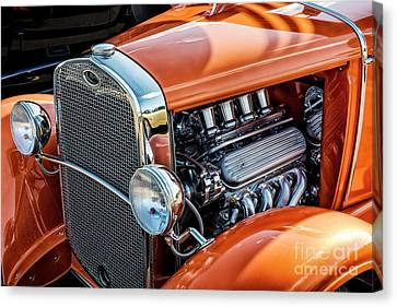 Canvas Print featuring the photograph Ford Coupe II by Brad Allen Fine Art