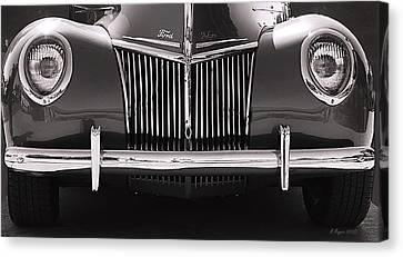 Ford Delux Canvas Print by Melisa Meyers