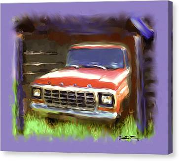 Ford F150 Canvas Print