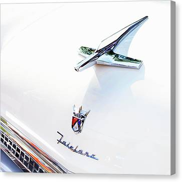 Canvas Print featuring the photograph Ford Fairlane Classic by Theresa Tahara