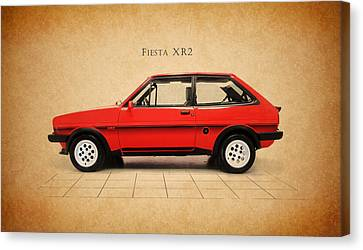 Ford Fiesta Xr2 Canvas Print by Mark Rogan
