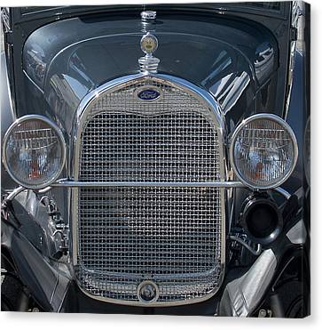 Ford Grill Canvas Print
