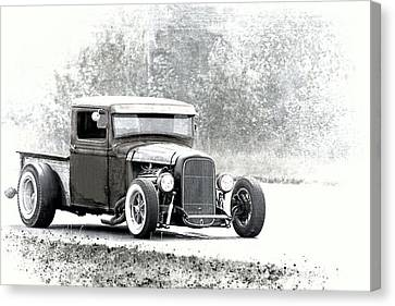 Ford Hot Rod Canvas Print by Athena Mckinzie