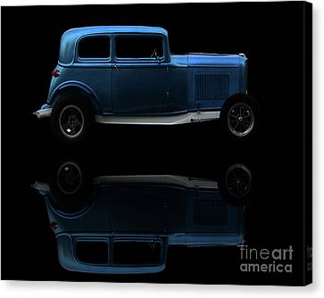 Ford Hot Rod Reflection Canvas Print