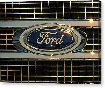 Ford Canvas Print by Kathy Clark