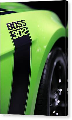 Ford Mustang - Boss 302 Canvas Print by Gordon Dean II