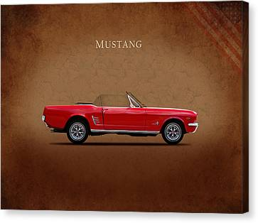 Ford Mustang 289 Canvas Print by Mark Rogan