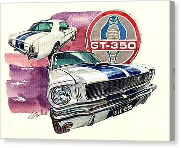 Ford Mustang Gt350 Canvas Print