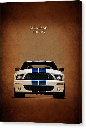 Mustang Canvas Print - Ford Mustang Shelby 06 by Mark Rogan