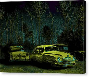 Ford-o-matic And Friends Canvas Print by David A Brown