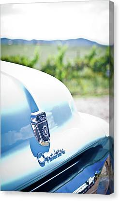 Ford Overdrive Canvas Print by Swift Family