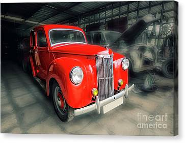 Canvas Print featuring the photograph Ford Prefect by Charuhas Images