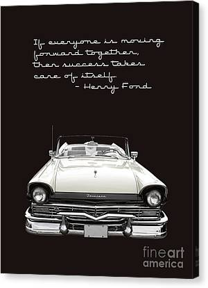 Ford Success Poster Canvas Print by Edward Fielding