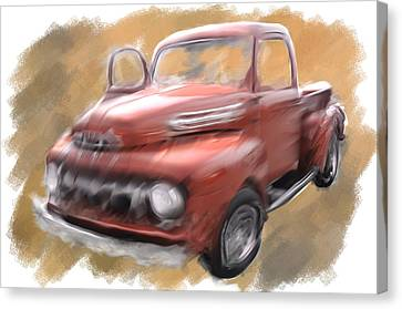 Ford Tough Canvas Print by Davina Washington
