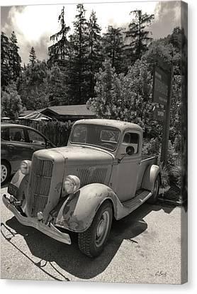 Ford Tough Canvas Print by Gordon Beck