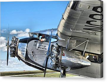 Ford Trimotor Canvas Print by Michael Daniels
