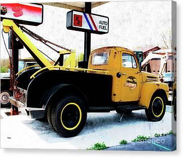 Ford Wrecker  Canvas Print by Steven Digman
