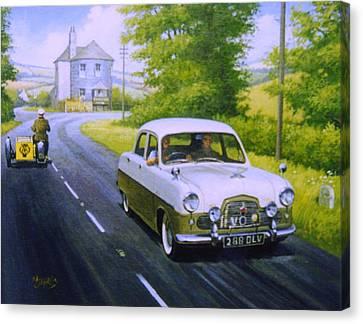 Ford Zephyr Mk 1  Canvas Print
