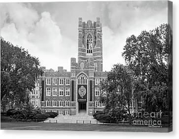 Alma Canvas Print - Fordham University Keating Hall by University Icons