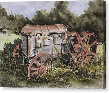 Fordson Model F Canvas Print by Sam Sidders