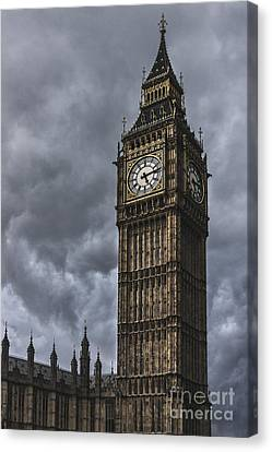 Unique Structure Canvas Print - Foreboding by Andrew Paranavitana