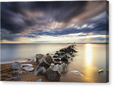 Stopper Canvas Print - Forecast Calls For Cloudy Skies by Edward Kreis