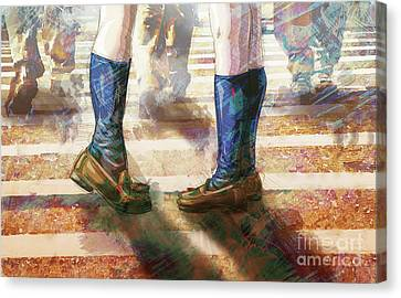Foreign Exchange Canvas Print