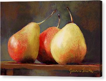 Forelle Trio Canvas Print by Jeanne Rosier Smith