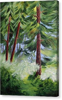 Forest Alive Canvas Print by Joanne Smoley