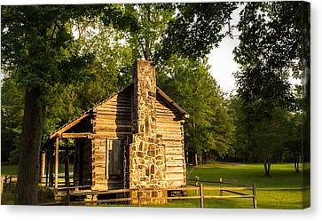 Forest Cabin Canvas Print by Parker Cunningham