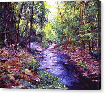 Canvas Print - Forest Clearing by David Lloyd Glover