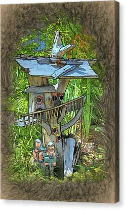Forest Dwelling Canvas Print