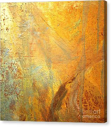 Michael Canvas Print - Forest Gold by Michael Rock