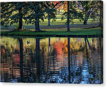 Forest Hill Reflections I Canvas Print