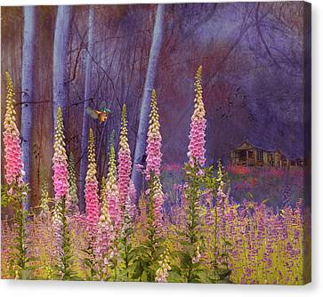 Old House Canvas Print - Forest Illusion by Jeff Burgess