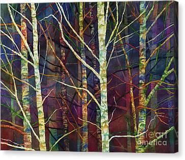 Forest Rhythm Canvas Print by Hailey E Herrera