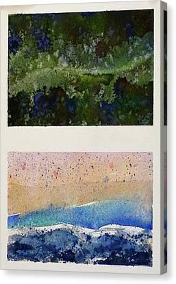 Forest X Beach Canvas Print by Max Good